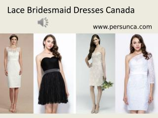 Lace Bridesmaid Dresses  under 100 on Persunca.com