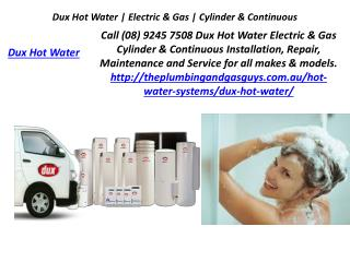 Dux Hot Water Electric & Gas