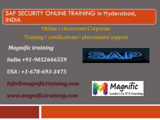 online training classes on sap security in kolkata,mumbai
