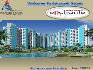 Amrapali Enchante Launched 2, 3 BHK Flats within Budget