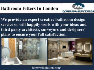 Bathroom fitters in London