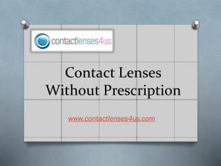 Best Contact Lenses Without Prescription