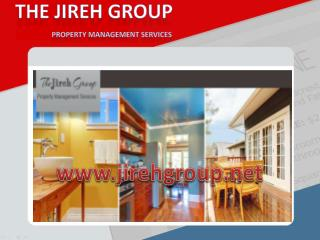 Property Management Los Angeles At The Jireh Group