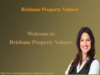 Brisbane Property Valuations Services