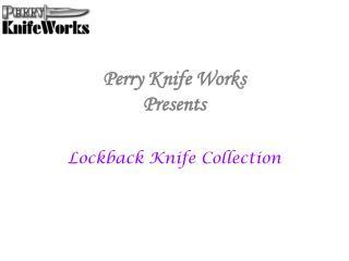 Lockback Knife