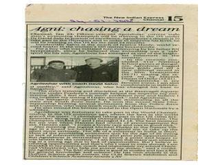Agnishwar Swimmer - Chasing a Dream