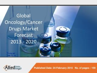 Oncology/Cancer Drugs Market - Research, Report, Opportunities, Segmentation and Forecast, 2013 - 2020