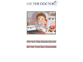 Why Free Online Doctor Is Better Than Self Diagnosis