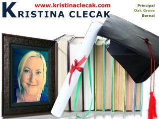Kristina Clecak Principal | Info & Images