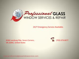 Professional Glass Window Services & Repair