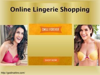 Online Lingerie Shopping, Women Lingerie Online Shopping