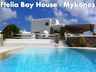 Ftelia Bay House - Mykonos,Greece - Holiday Rental