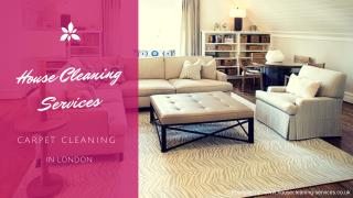 House Cleaning Services - Carpet Cleaning