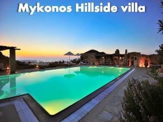 Mykonos Hillside Villa - Holiday Villa, Holiday Rental