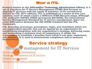 ITIL Training | ITIL online training | PECB ISO certification