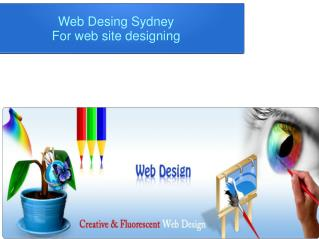 Web Development Sydney Provide Web Site Development Services.