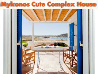 Mykonos Cute Complex House - Holiday Rental Mykonos Greece