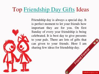 Friendship day ideas by Indiaflowerplaza