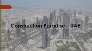 Construction in UAE