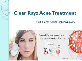 Clear Rayz Acne Treatment