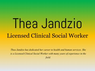 Thea Jandzio - Licensed Clinical Social Worker