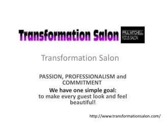 Hair Salon and Hair Experts