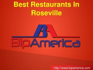 Best Restaurants In Roseville