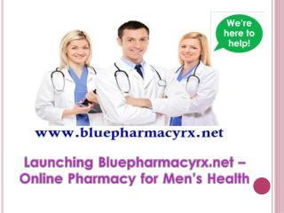 Bluepharmacyrx.net - An Emerging Licensed Online Pharmacy for Men