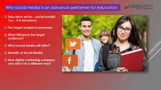 Social Media is the Future for Education