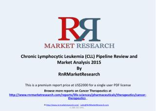Relapsed Chronic Lymphocytic Leukemia Pipeline Review, H1 2015
