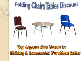 Top Aspects that Matter in Picking A Commercial Furniture Seller