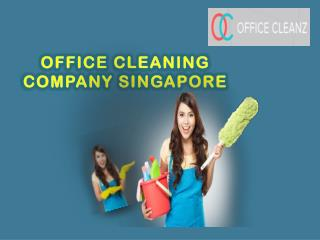 Office cleaning in singapore