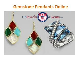 Gemstone Pendants Online