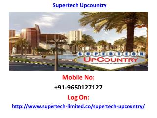Supertech Upcountry Noida Project