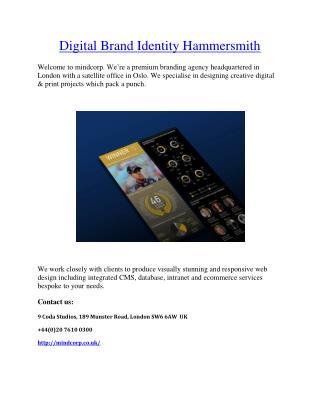 Digital Brand Identity Hammersmith – Mindcorp