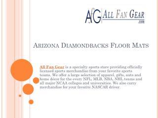 Arizona Diamondbacks Floor Mats