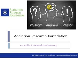 Complete your Alcohol, Drug Addiction Survey - Research Foundation, Birmingham, Alabama