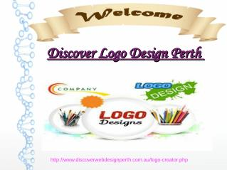 Discover web design Logo perth