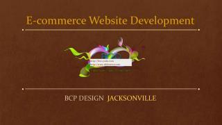 E-commerce Website Development @ BCP Design
