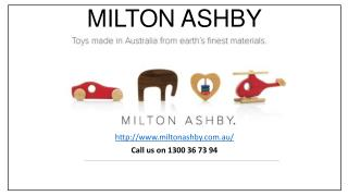 Handmade Wooden Baby, Kids Toys & Gifts Made in Australia - Milton Ashby