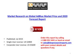 Worldwide AdBlue Market Growth Analysis Report 2020