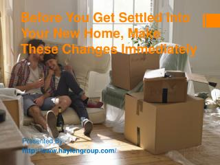 7 Tips for Moving Into Your New Home