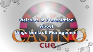 Bingo Bankroll Management