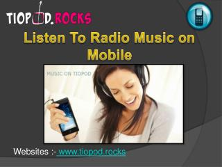 Your Favorite Radio Music Online