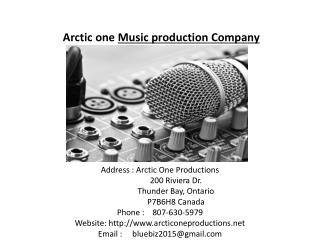 Arctic one music production company