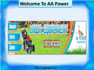 Welcome To AA Power