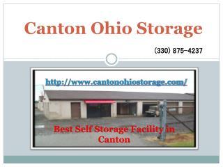 Self Storage Facility - Canton OHIO