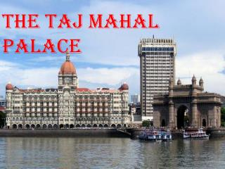 The Taj Mahal Palace Near at Colaba in Mumbai - Get Images