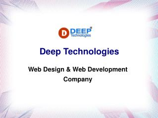website design & webs development company in india