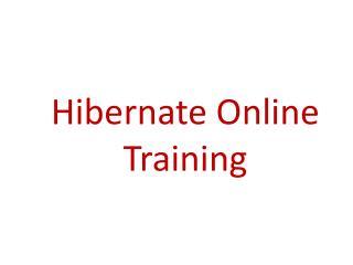The best Hibernate online training